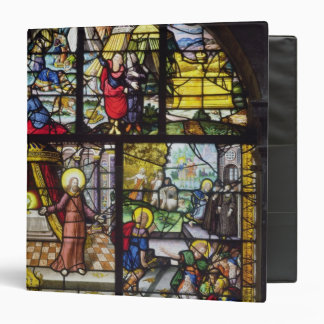 Window depicting the Gathering of the Manna Binder