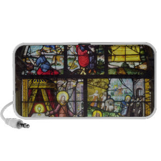 Window depicting the Gathering of the Manna iPod Speaker