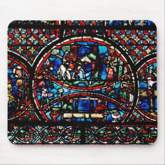 Window depicting the Good Samaritan Mouse Pad