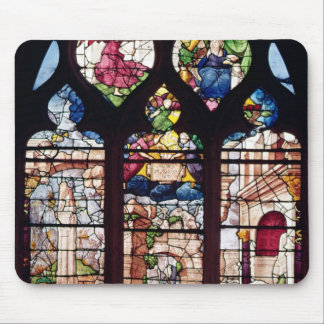Window depicting the Nativity Mouse Pad