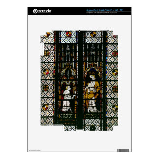 Window depicting the Virgin and Raoul de Ferrieres iPad 3 Skin
