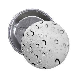 Window Droplets 2 Inch Round Button
