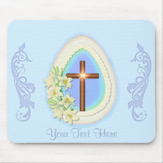 Window Egg and Cross Mouse Pad
