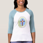 Window Egg and Cross T Shirts