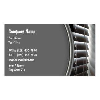 Window Fashions Business Cards