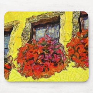 Window Flower Boxes in Michelstadt Germany KPA Mouse Pad