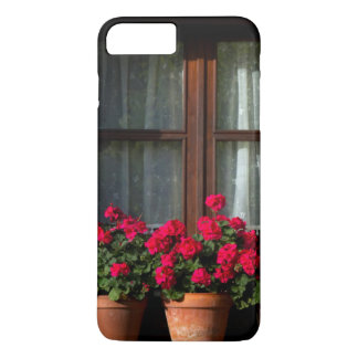 Window flower pots in village iPhone 8 plus/7 plus case