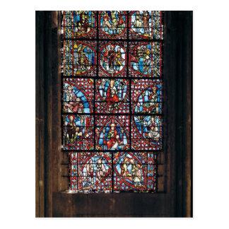 Window from the ambulatory postcard