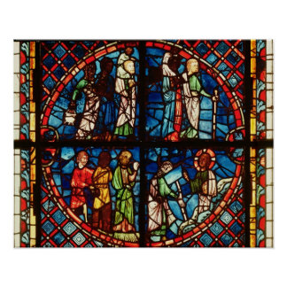Window from the Chapel of the Virgin Poster