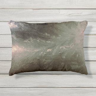 Window Frost pattern on pillow