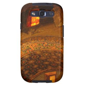 Window Gold Samsung Galaxy SIII Cover