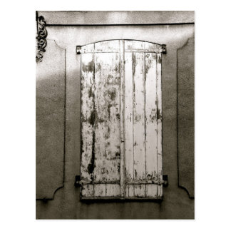 Window, Gravelines, FRANCE Postcard