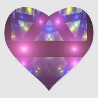 Window Heart Sticker