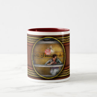 Window - Hoboken, NJ - Hale and Hearty Soups Two-Tone Coffee Mug