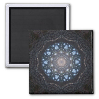 Window in a Tree 2 Inch Square Magnet