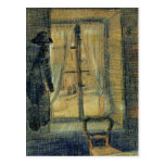 Window in the Bataille Restaurant by van Gogh Post Cards