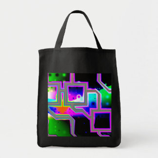 Window into the Universe– Magenta & Cyan Intersect Tote Bag