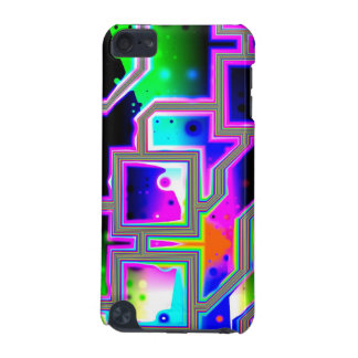 Window into the Universe– Magenta & Cyan Intersect iPod Touch 5G Case
