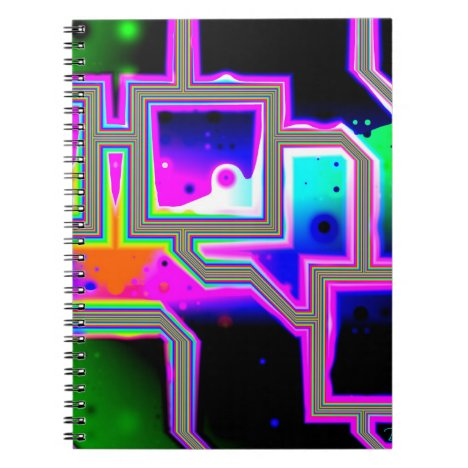 Window into the Universe– Magenta & Cyan Intersect Notebook