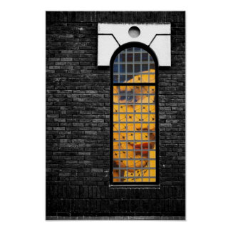 Window kisses poster