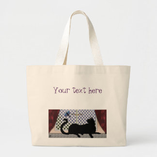 window kitty canvas bags