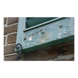 Window Latch Charleston Poster