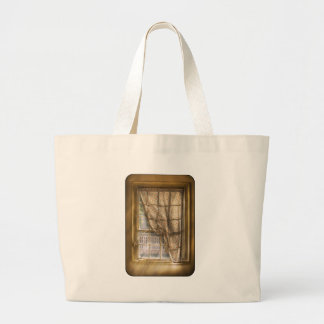 Window - Letting a little light in Canvas Bags