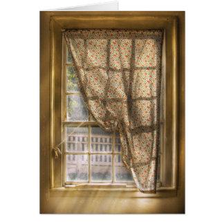 Window - Letting a little light in Card