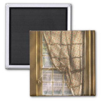 Window - Letting a little light in Fridge Magnet