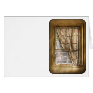 Window - Letting a little light in Greeting Cards