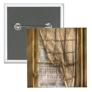 Window - Letting a little light in Pinback Button