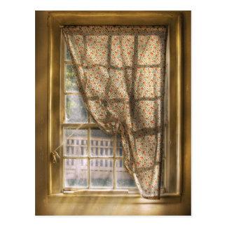 Window - Letting a little light in Post Card