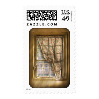 Window - Letting a little light in Postage Stamp
