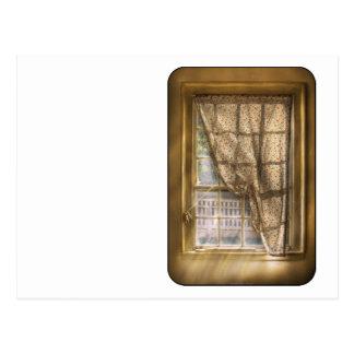 Window - Letting a little light in Postcard