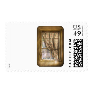 Window - Letting a little light in Stamp