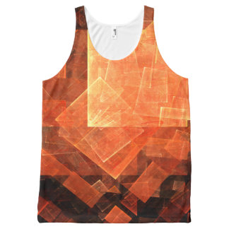 Window Light Abstract Art All-Over-Print Tank Top