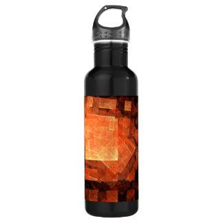 Window Light Abstract Art Bottle 24oz Water Bottle