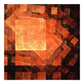 Window Light Abstract Art Card