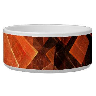 Window Light Abstract Art Dog Bowl