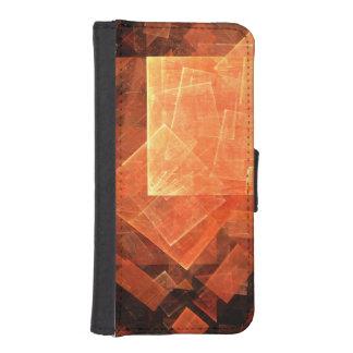 Window Light Abstract Art iPhone SE/5/5s Wallet Case