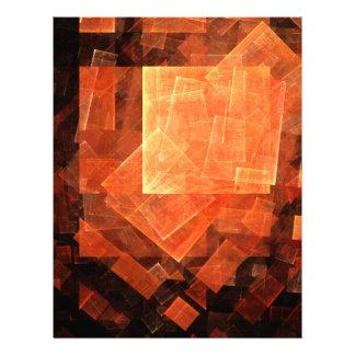 Window Light Abstract Art Letterhead