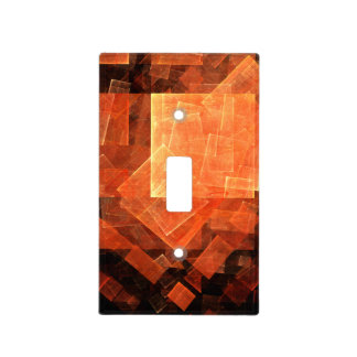 Window Light Abstract Art Light Switch Cover