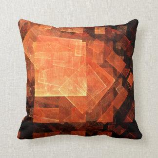 Window Light Abstract Art Throw Pillow
