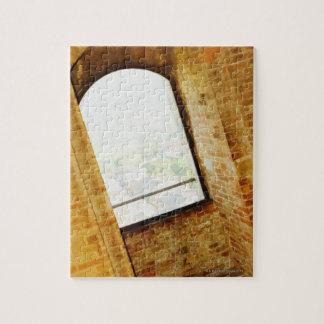 Window of a building, La Rognosa, San Gimignano, Puzzle