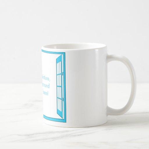 Window of Opportunity Classic White Coffee Mug