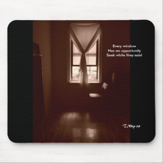 Window of Opportunity Mouse Pad