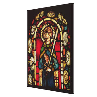 Window of St. Timothy Canvas Print