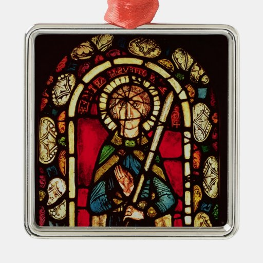 Window of St. Timothy Christmas Tree Ornament