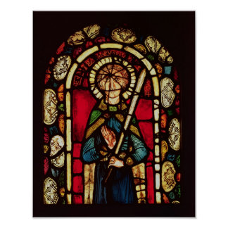 Window of St. Timothy Poster