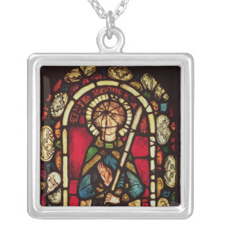 Window of St. Timothy Square Pendant Necklace